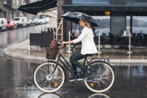 How to Bike to Work in The Rain: My Secret Tips and Advice