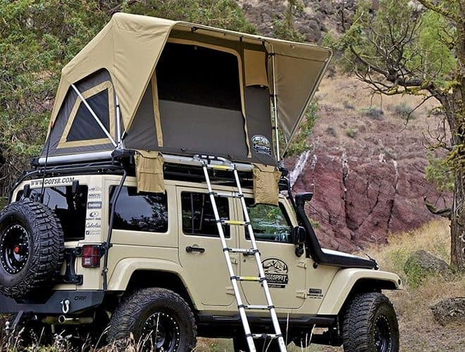 Jeep Wrangler Unlimited Roof Tent: Everything You Should Know (With Pictures)